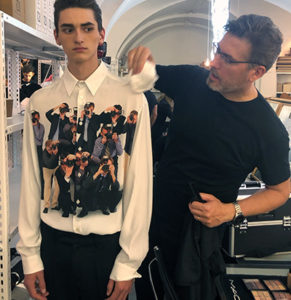 Backstage Fashion Week primavera-estate 2020